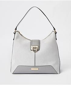 river-island-river-island-lock-front-slouch-bag-grey