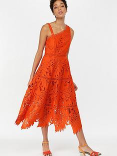 monsoon-maria-palm-lace-midi-dress-orange