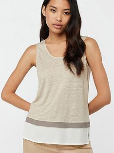monsoon-elaine-woven-trim-linen-sleeveless-top-grey