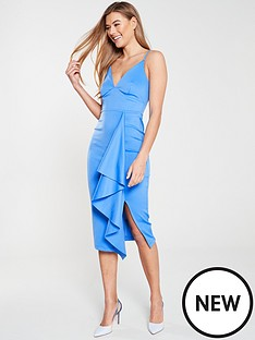 v-by-very-ruffle-front-bodycon-dress-powder-blue