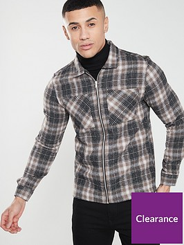 river-island-long-sleeve-check-overshirt