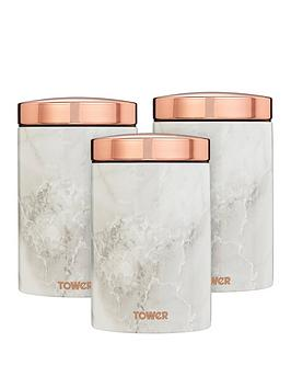 tower-marble-rose-gold-edition-canisters-ndash-set-of-3