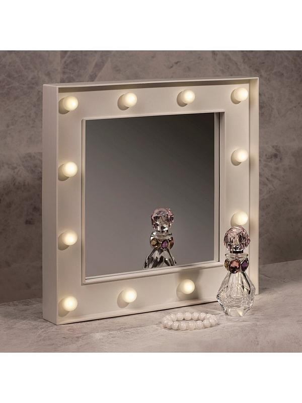 Hollywood Light Up Mirror Littlewoods