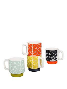 orla-kiely-linear-stem-stacking-espresso-mugs