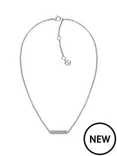 tommy-hilfiger-tommy-hilfiger-silver-crystal-set-bar-pendant-ladies-necklace