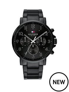 tommy-hilfiger-tommy-hilfiger-black-chronograph-dial-black-ip-stainless-steel-bracelet-mens-watch