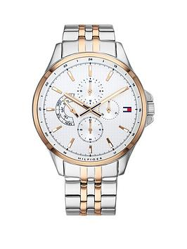 Tommy Hilfiger Tommy Hilfiger Tommy Hilfiger Silver And Carnation Gold  ... Picture