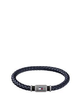 Tommy Hilfiger Tommy Hilfiger Rivet Detail Leather Bracelet Picture