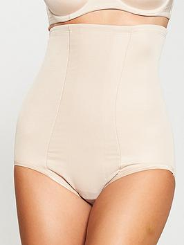 Miraclesuit   Shape With An Edge Hi-Waist Brief - Nude