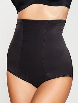Miraclesuit   Shape With An Edge Hi-Waist Brief - Black