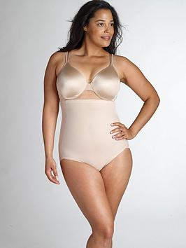 Miraclesuit   Flexible Fit&Reg; Plus Size Hi-Waist Brief - Nude