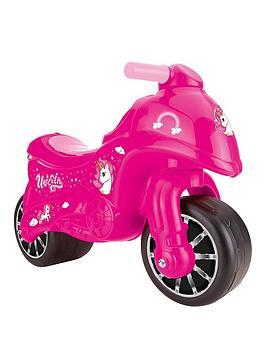 Dolu Dolu Pink Unicorn My First Moto Ride On Picture