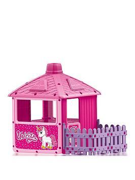 Dolu Dolu City Play House With Fence - Pink Picture