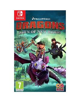 Nintendo Switch   Dreamworks Dragons : Dawn Of New Riders