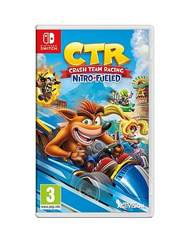 Nintendo Switch   Crash Team Racing Nitro-Fueled - Switch