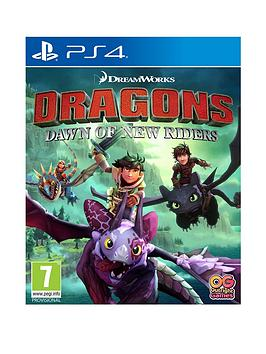 Playstation 4 Playstation 4 Dreamworks Dragons : Dawn Of New Riders - Ps4 Picture