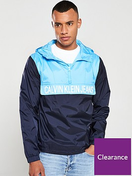 calvin-klein-jeans-colour-block-nylon-pullover-jacket-navyalaskan-blue