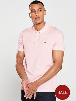 calvin-klein-jeans-logo-pique-slim-polo-shirt-pink