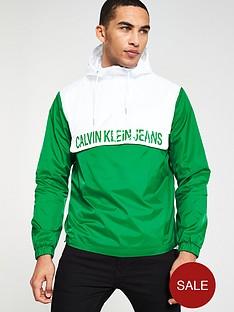 calvin-klein-jeans-colour-block-nylon-pullover-jacket-whitegreen