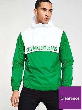 calvin-klein-jeans-colour-block-nylon-pullover-jacket-whitegreen