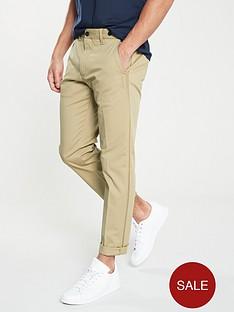 calvin-klein-straight-fit-side-stripe-twill-trouser-stone