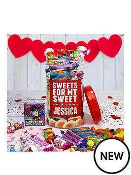 personalised-valentines-sweets-for-my-sweets-retro-sweet-jar