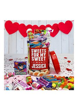 Very Personalised Sweets For My Sweets Retro Sweet Jar Picture