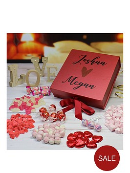 personalised-luxury-red-sweetie-gift-box