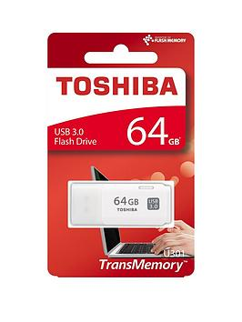 Toshiba Toshiba 64Gb Usb 3.0 Flash Drive - White Picture