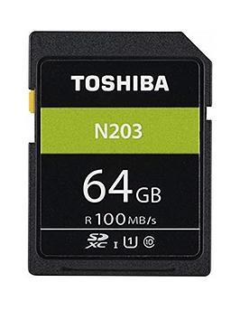Toshiba Toshiba 64Gb Memory Sd Card 100Mb/S Picture