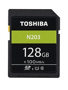 Toshiba Toshiba 128Gb Memory Sd Card 100Mb/S Picture