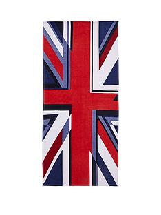 catherine-lansfield-union-jack-beach-towel
