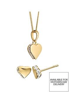 evoke-gold-plated-sterling-silver-swarovski-crystal-heart-earrings-necklace-set