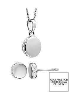 evoke-sterling-silver-swarovski-crystal-round-earrings-necklace-set