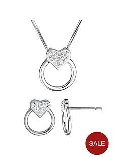 evoke-sterling-silver-swarovski-crystal-heart-circle-earrings-necklace-set