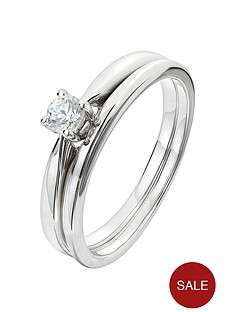 love-diamond-9ct-white-gold-15-point-diamond-solitaire-bridal-set