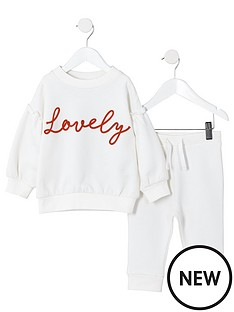 river-island-mini-mini-girls-lovely-sweatshirt-outfit-white