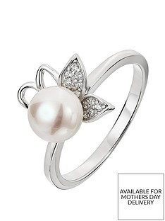 love-pearl-sterling-silver-cubic-zirconia-genuine-freshwater-pearl-flower-ring