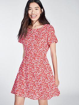 jack-wills-jack-wills-merriden-printed-fit-flare-dress