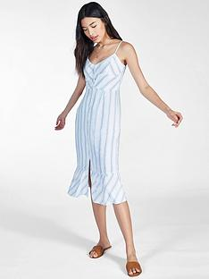 jack-wills-fernheath-button-stripe-midi-dress-blue
