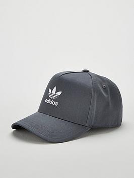 adidas-originals-classic-trefoil-cap-grey