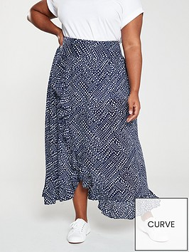 monsoon-curve-candice-beach-skirt-navy