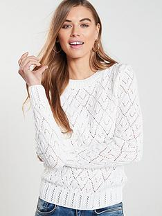 v-by-very-pointelle-stitch-detail-jumper-white