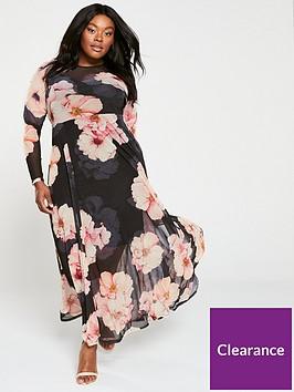 v-by-very-curve-printed-mesh-maxi-dress-print