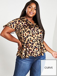 v-by-very-curve-animal-print-blouse-leopard