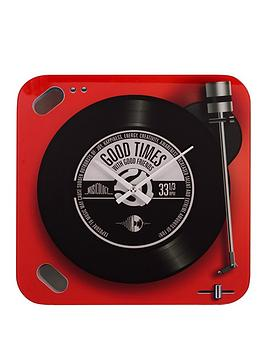 musicology-glass-wall-clock-red-record-player