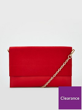 v-by-very-kristina-double-gusset-clutch-bag-red