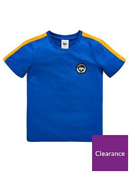 hype-boys-taping-short-sleeve-t-shirt-royal-blue