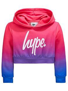 hype-girls-2-tone-overhead-cropped-hoodienbsp--multi