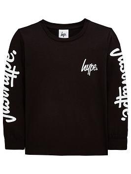 hype-boys-arm-logo-long-sleeve-t-shirt-black